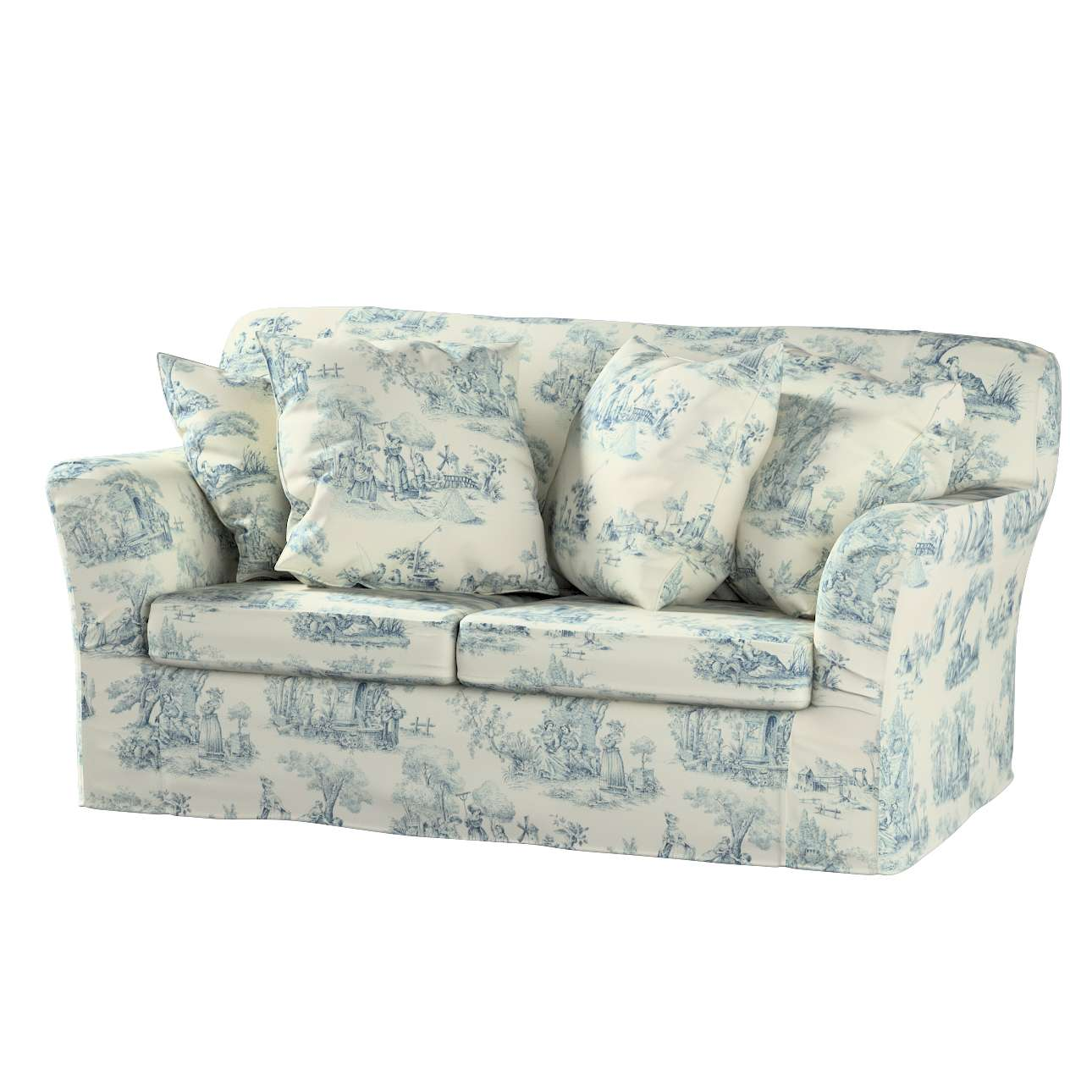 Tomelilla 2-seater sofa cover in collection Avinon, fabric: 132-66