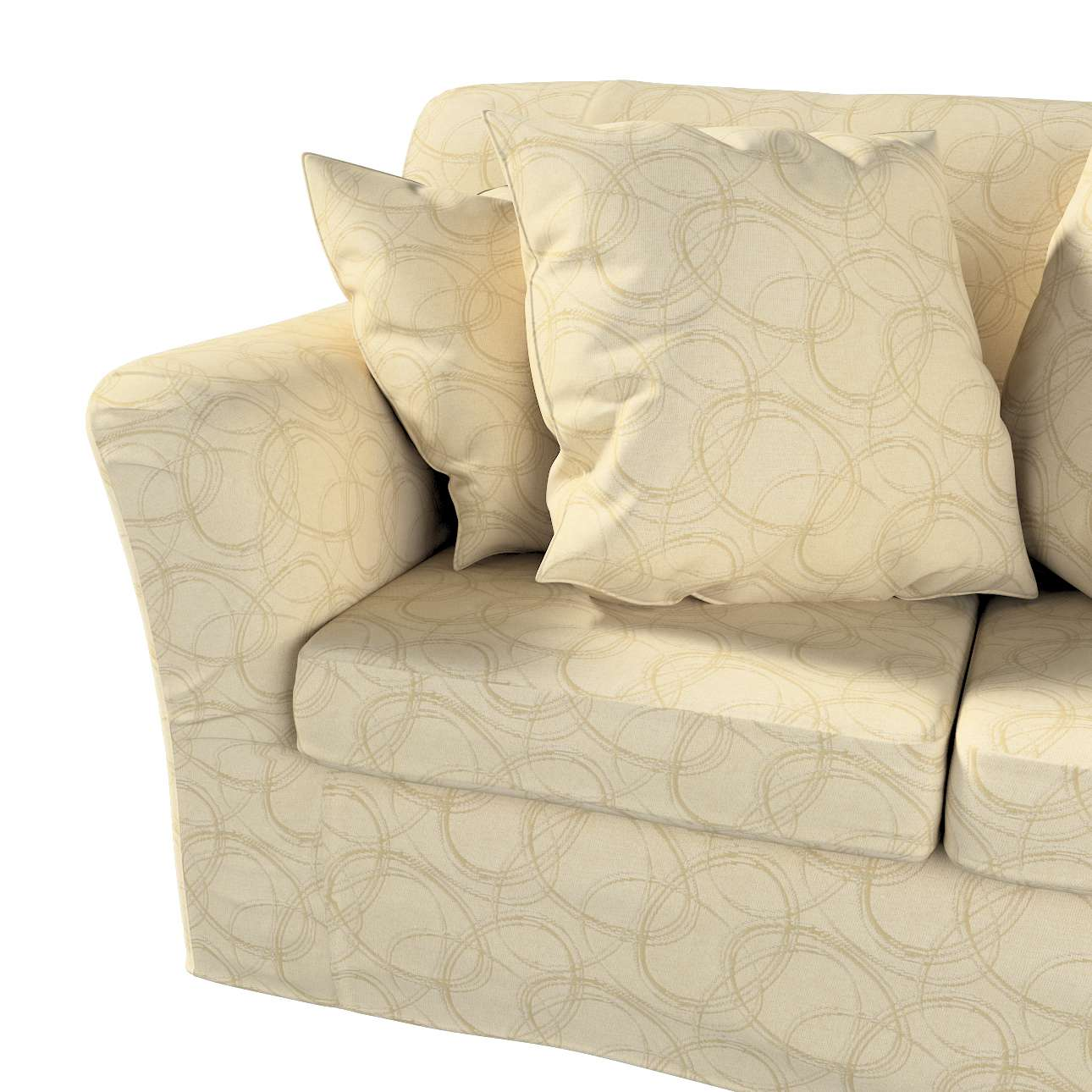 Pokrowiec na sofę Tomelilla 2-osobową nierozkładaną w kolekcji Living, tkanina: 161-81