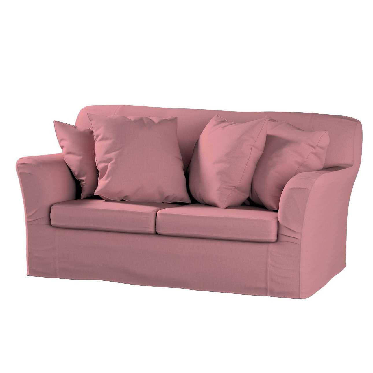 Pokrowiec na sofę Tomelilla 2-osobową nierozkładaną w kolekcji Cotton Panama, tkanina: 702-43