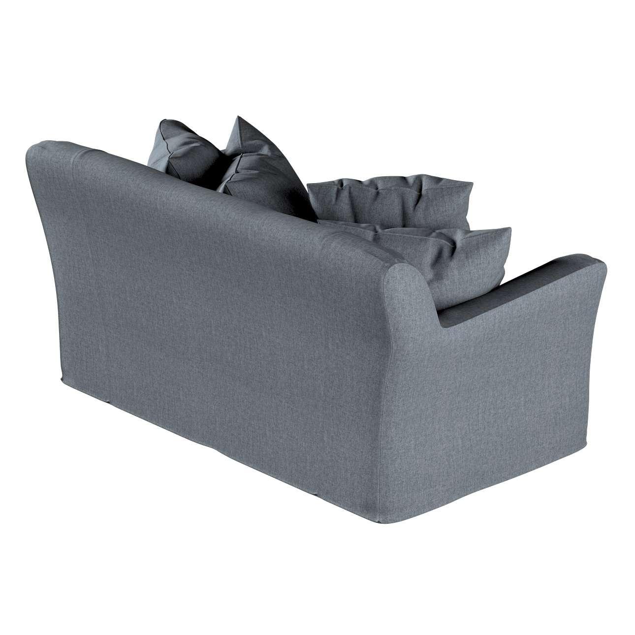 Pokrowiec na sofę Tomelilla 2-osobową nierozkładaną w kolekcji City, tkanina: 704-86