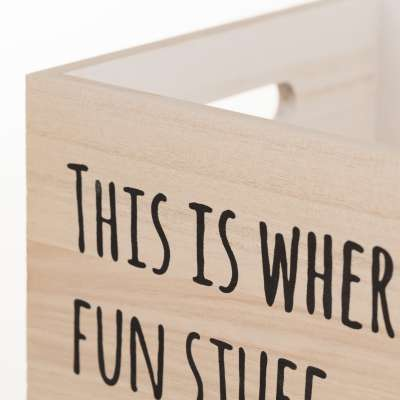 Skrzynka Fun Stuff 32x21x24cm