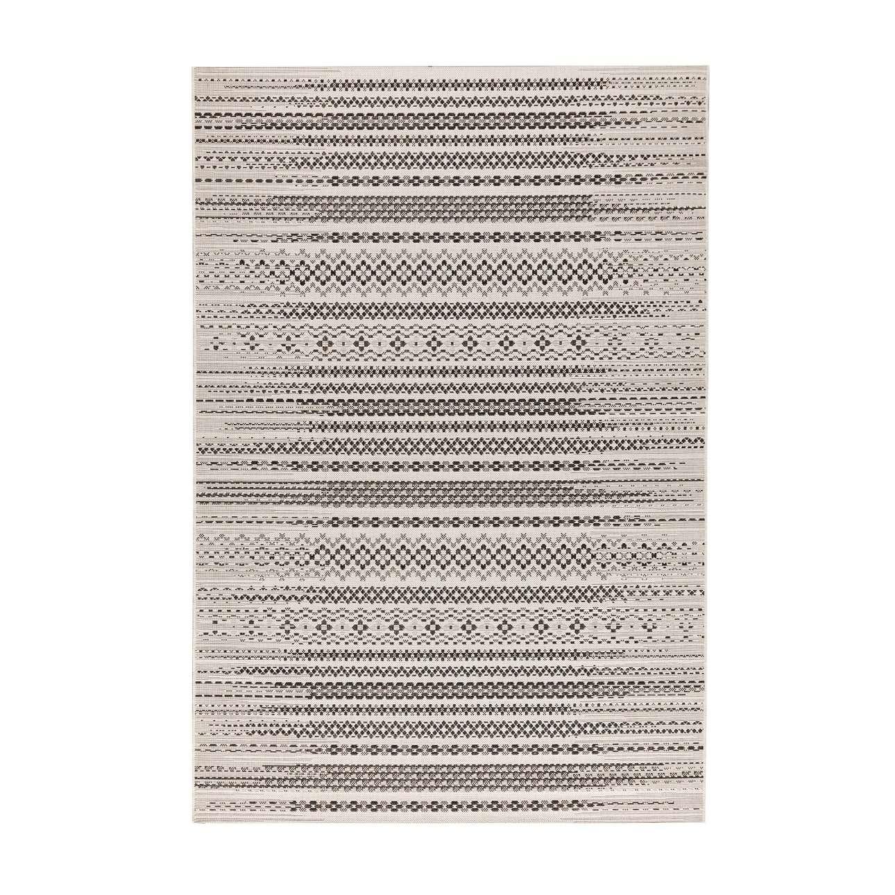 Koberec  Modern Etno wool/ black  160x230cm