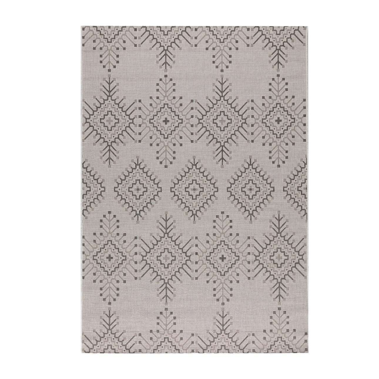 Dywan Modern Aztec silver/ antracite 160x230cm