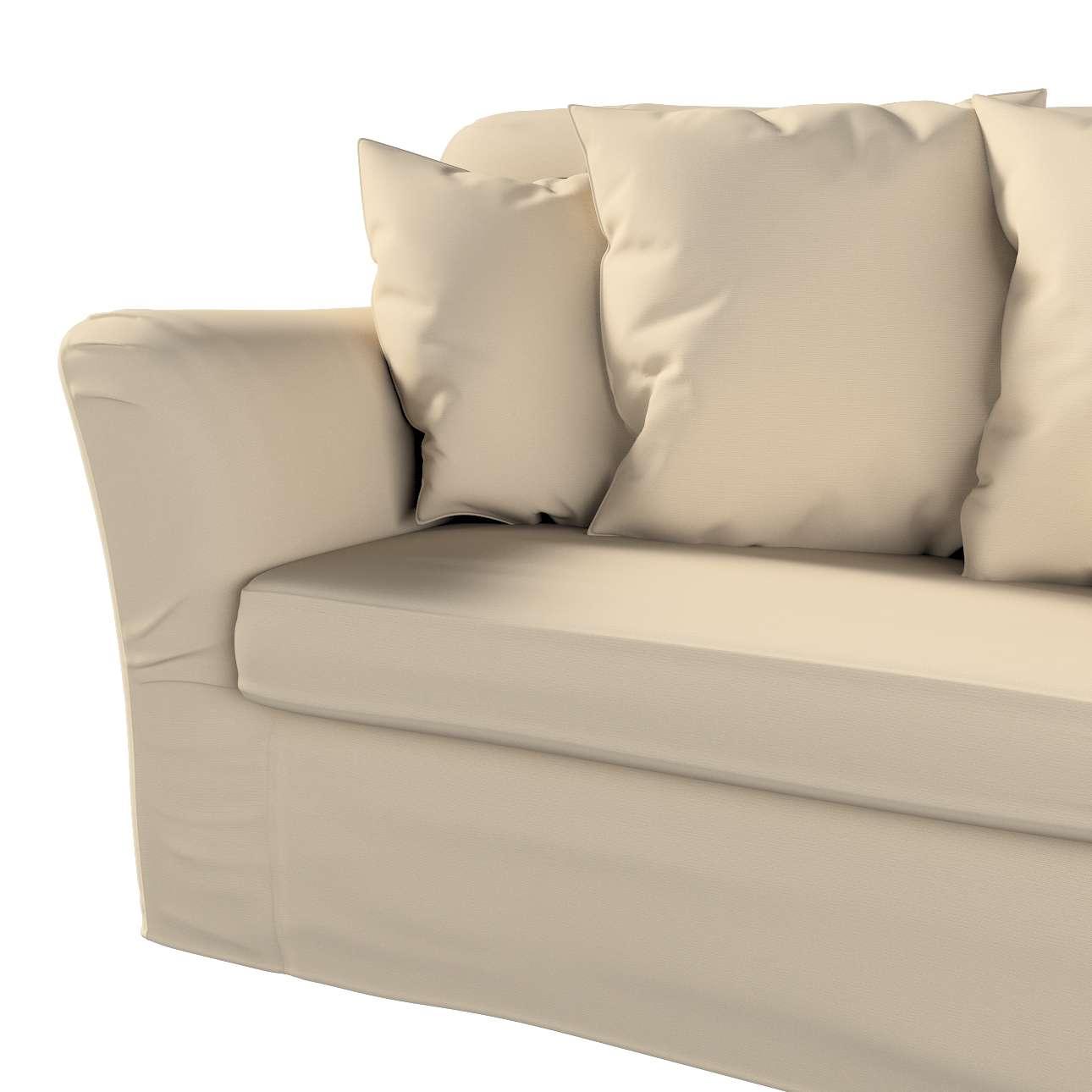 Pokrowiec na sofę Tomelilla 3-osobową rozkładaną w kolekcji Cotton Panama, tkanina: 702-01