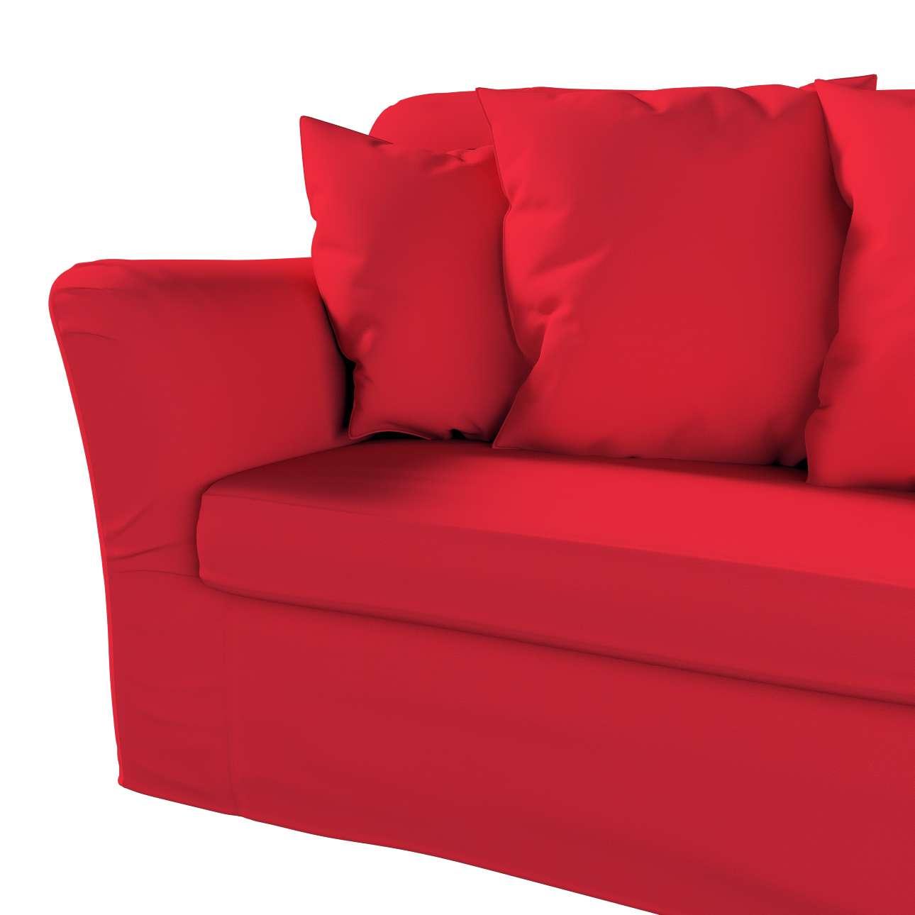Pokrowiec na sofę Tomelilla 3-osobową rozkładaną w kolekcji Cotton Panama, tkanina: 702-04