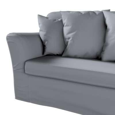 Pokrowiec na sofę Tomelilla 3-osobową rozkładaną w kolekcji Cotton Panama, tkanina: 702-07