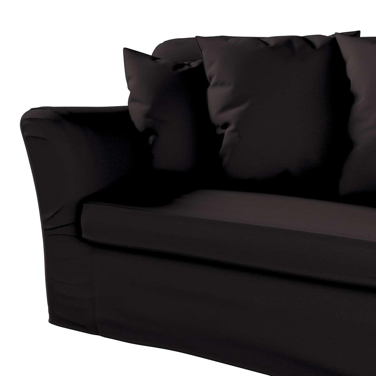 Pokrowiec na sofę Tomelilla 3-osobową rozkładaną w kolekcji Cotton Panama, tkanina: 702-09