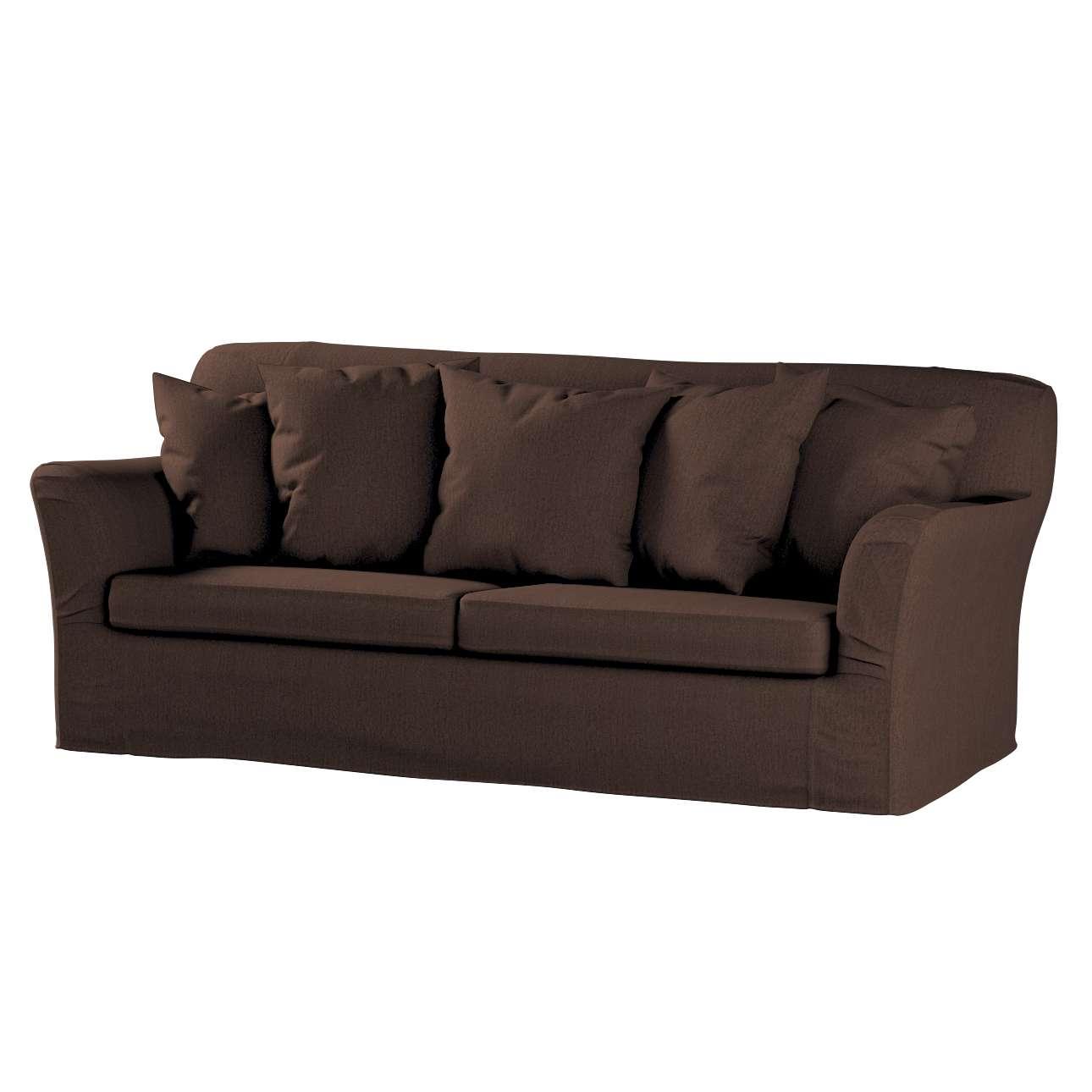 Pokrowiec na sofę Tomelilla 3-osobową rozkładaną w kolekcji Chenille, tkanina: 702-18
