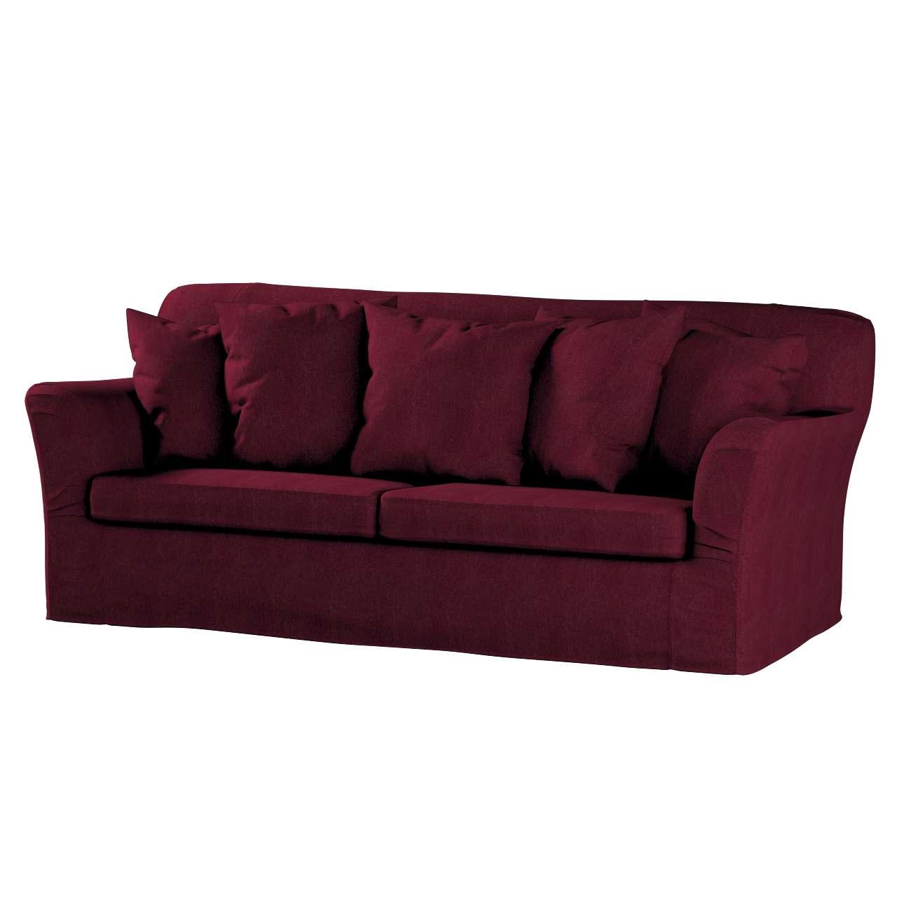Pokrowiec na sofę Tomelilla 3-osobową rozkładaną w kolekcji Chenille, tkanina: 702-19
