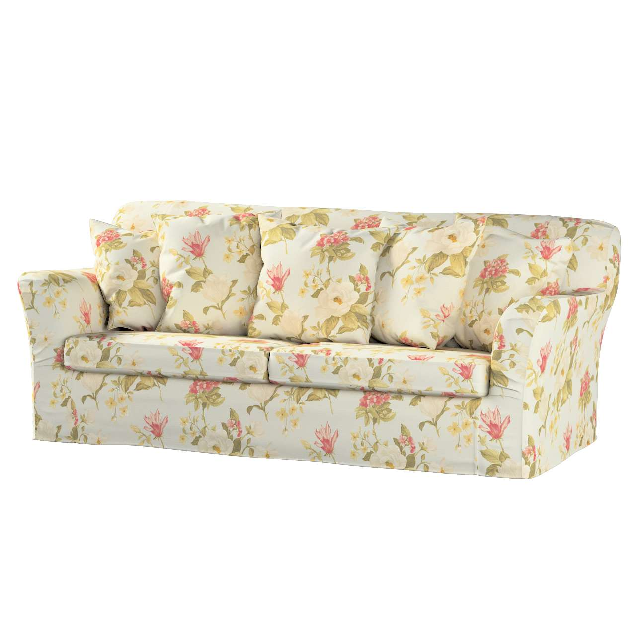 Pokrowiec na sofę Tomelilla 3-osobową rozkładaną w kolekcji Londres, tkanina: 123-65