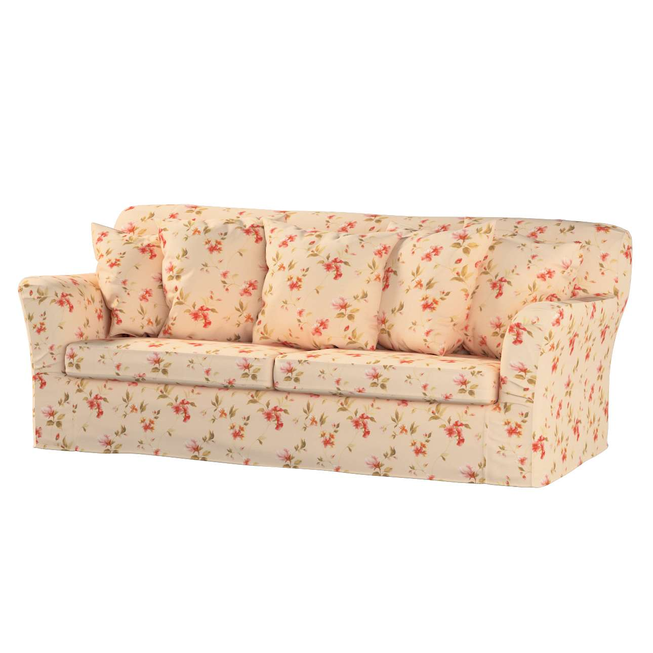 Pokrowiec na sofę Tomelilla 3-osobową rozkładaną Sofa Tomelilla rozkładana w kolekcji Londres, tkanina: 124-05