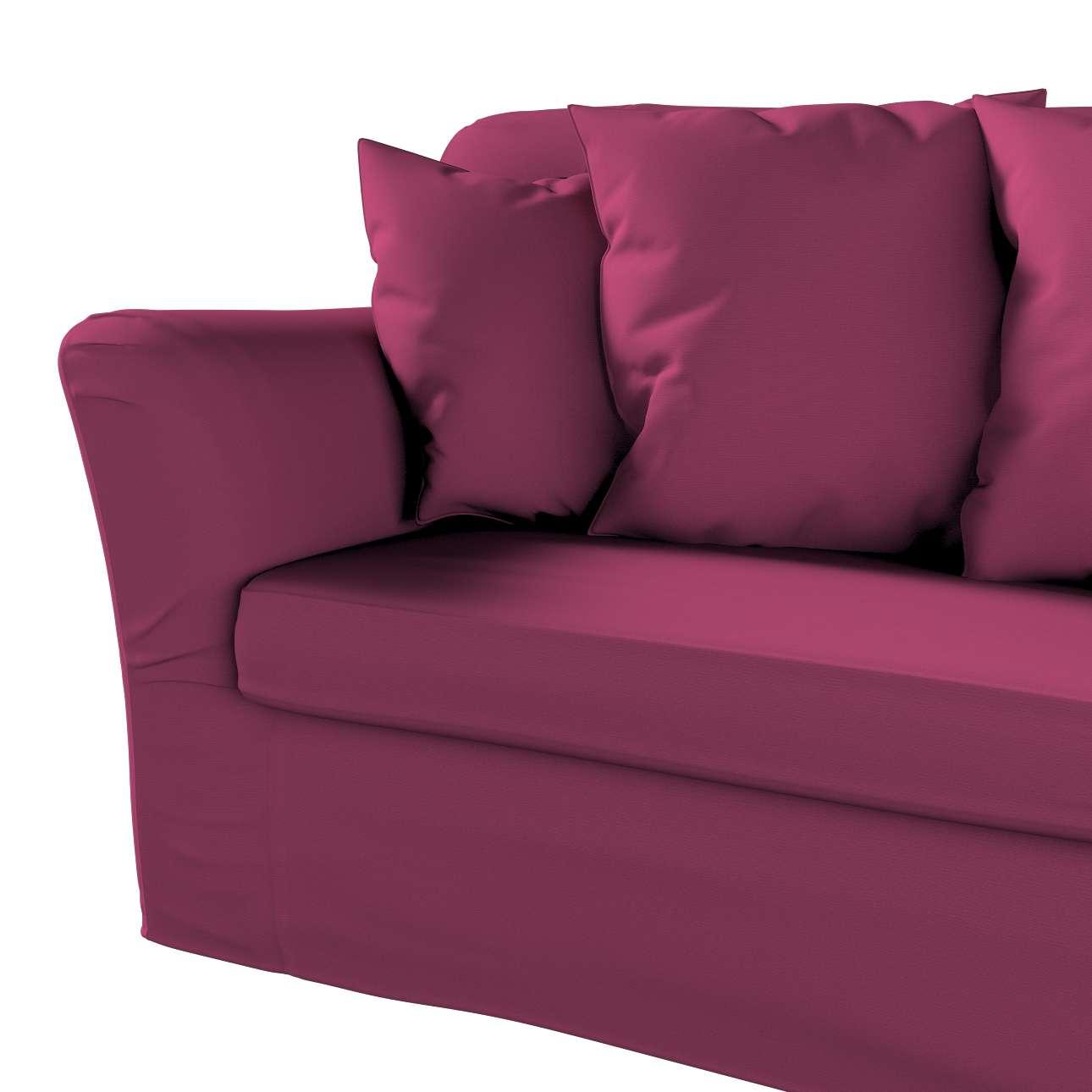 Pokrowiec na sofę Tomelilla 3-osobową rozkładaną w kolekcji Cotton Panama, tkanina: 702-32