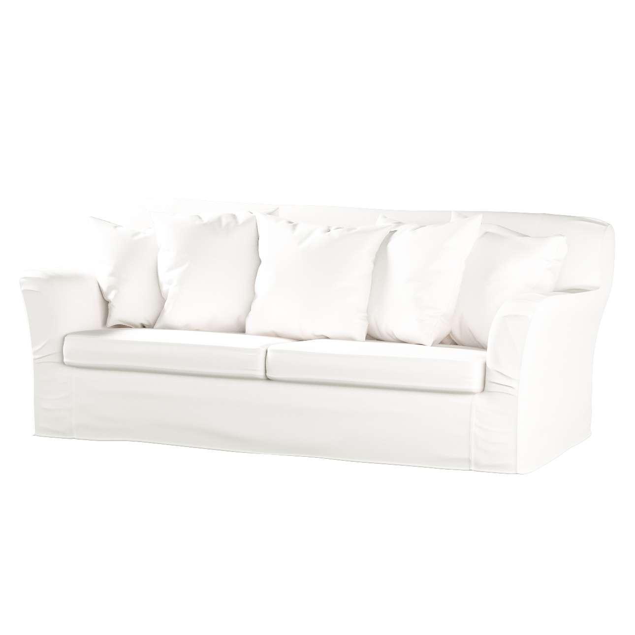 Pokrowiec na sofę Tomelilla 3-osobową rozkładaną w kolekcji Cotton Panama, tkanina: 702-34