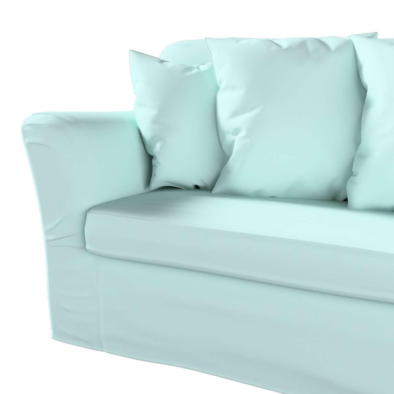 Pokrowiec na sofę Tomelilla 3-osobową rozkładaną w kolekcji Cotton Panama, tkanina: 702-10