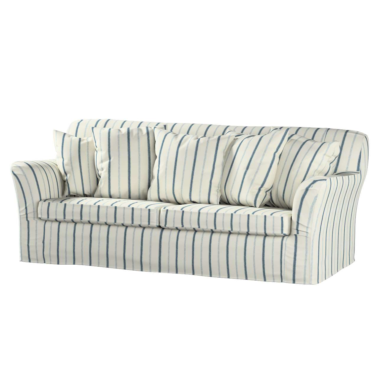 tomelilla schlafsofabezug normale gr e creme blau dekoria. Black Bedroom Furniture Sets. Home Design Ideas
