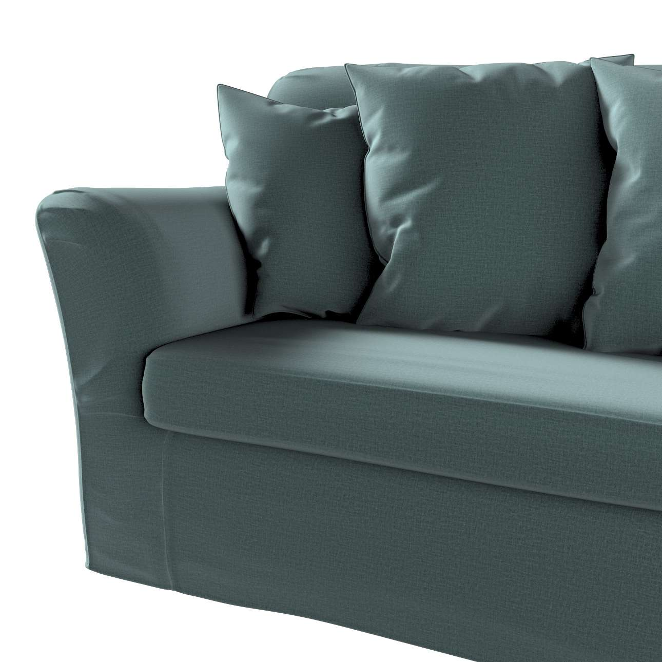 Pokrowiec na sofę Tomelilla 3-osobową rozkładaną w kolekcji Ingrid, tkanina: 705-36
