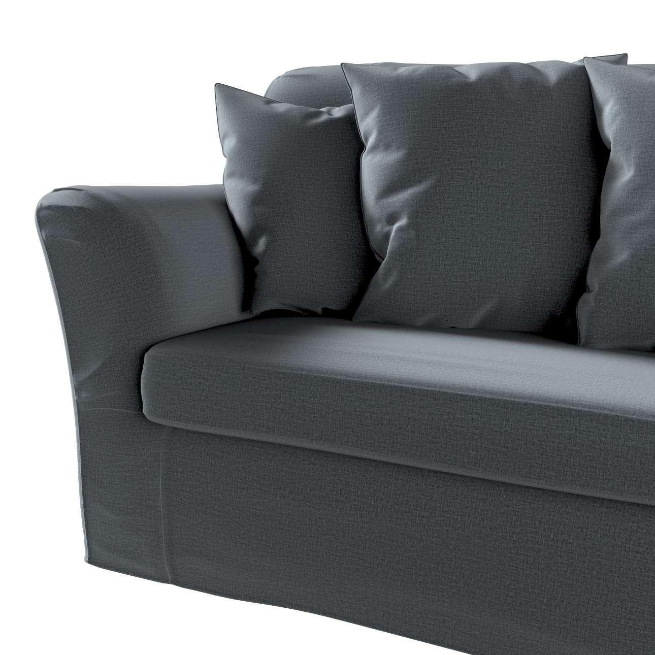 Pokrowiec na sofę Tomelilla 3-osobową rozkładaną w kolekcji Ingrid, tkanina: 705-43