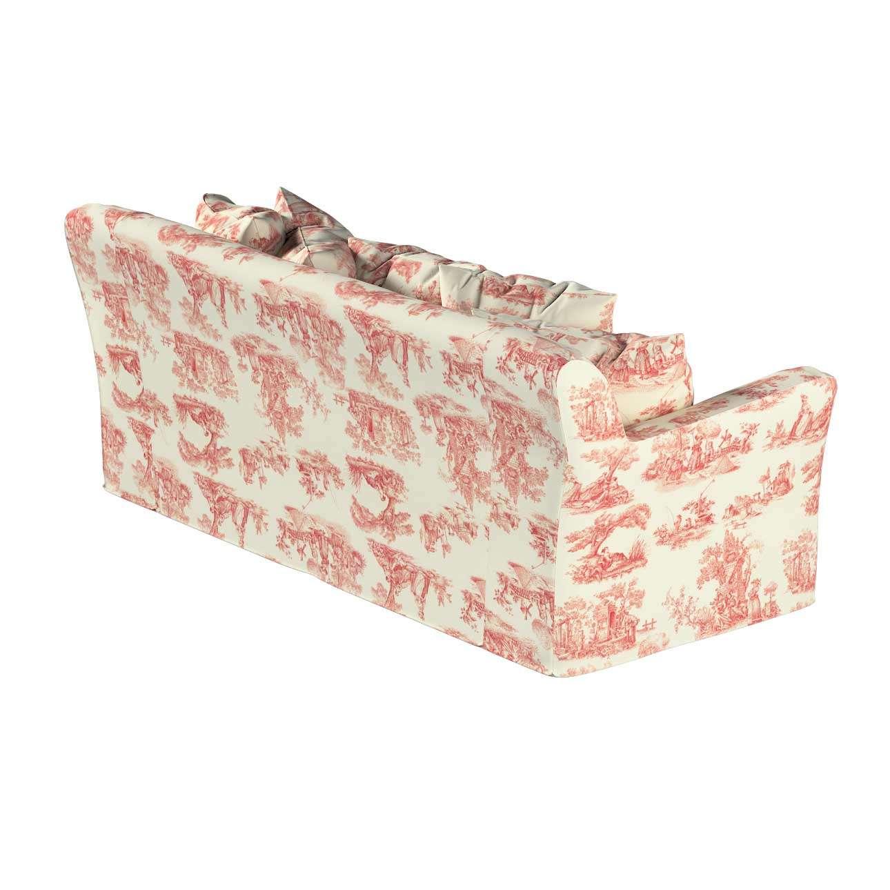 Pokrowiec na sofę Tomelilla 3-osobową rozkładaną w kolekcji Avinon, tkanina: 132-15