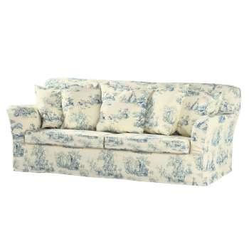 Pokrowiec na sofę Tomelilla 3-osobową rozkładaną w kolekcji Avinon, tkanina: 132-66