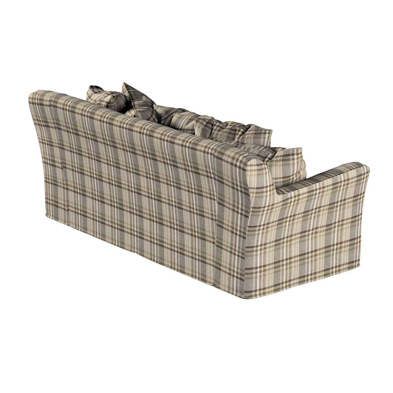 Pokrowiec na sofę Tomelilla 3-osobową rozkładaną w kolekcji Edinburgh, tkanina: 703-17