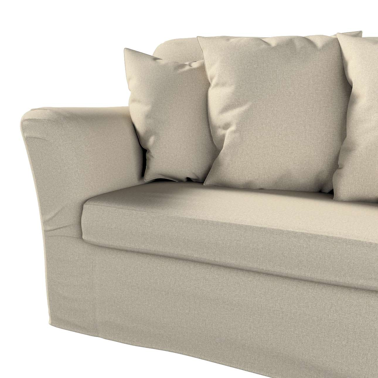 Pokrowiec na sofę Tomelilla 3-osobową rozkładaną w kolekcji Amsterdam, tkanina: 704-52