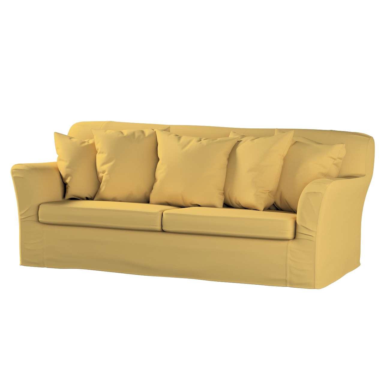 Pokrowiec na sofę Tomelilla 3-osobową rozkładaną w kolekcji Cotton Panama, tkanina: 702-41