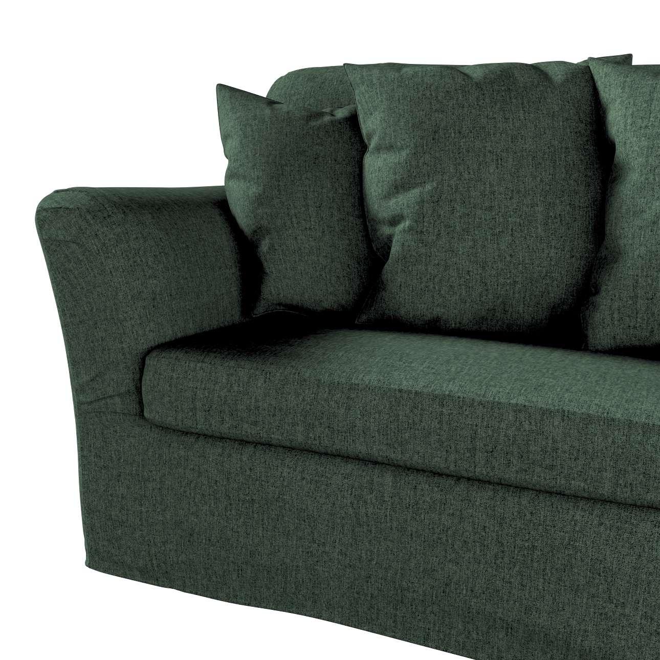 Pokrowiec na sofę Tomelilla 3-osobową rozkładaną w kolekcji City, tkanina: 704-81