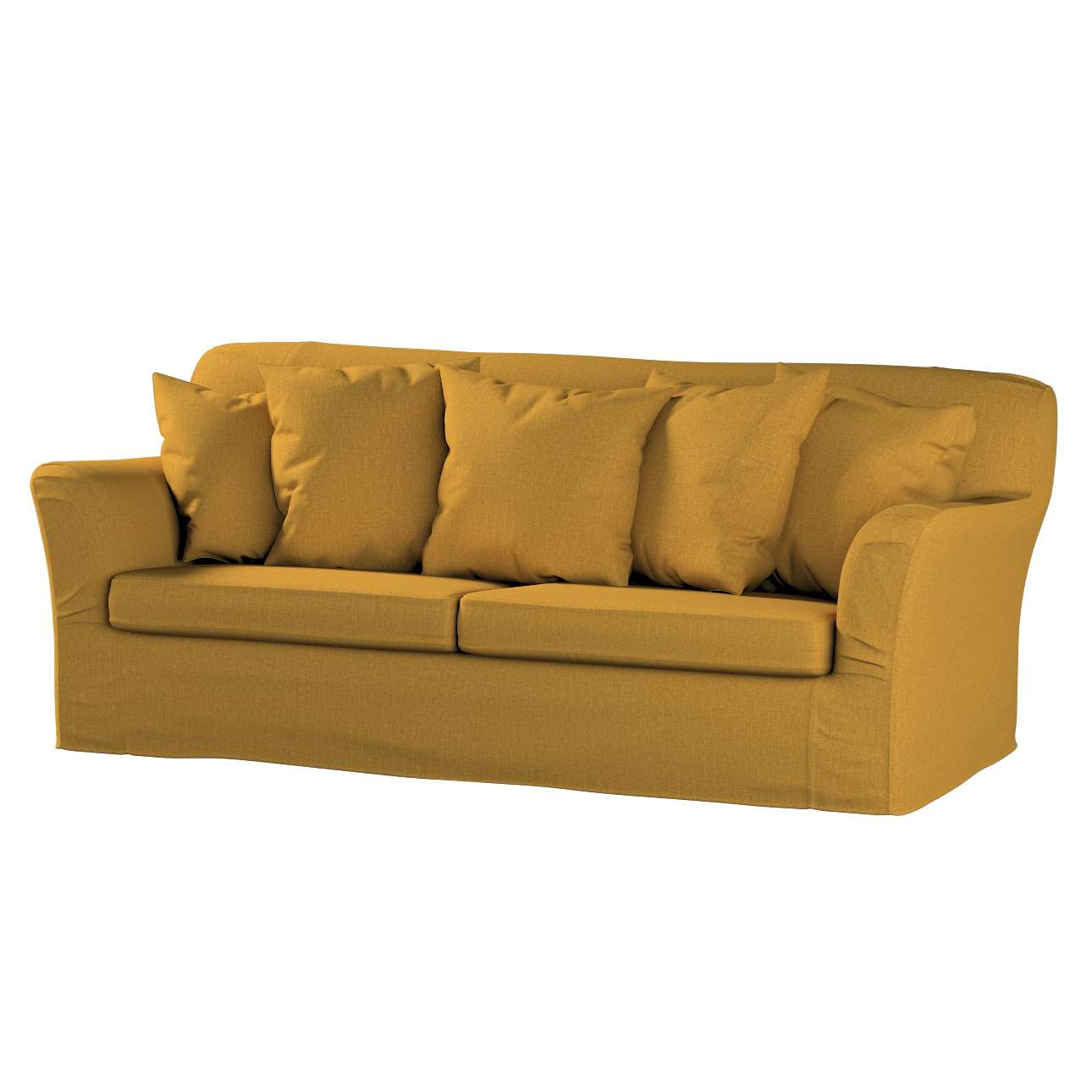 Pokrowiec na sofę Tomelilla 3-osobową rozkładaną w kolekcji City, tkanina: 704-82
