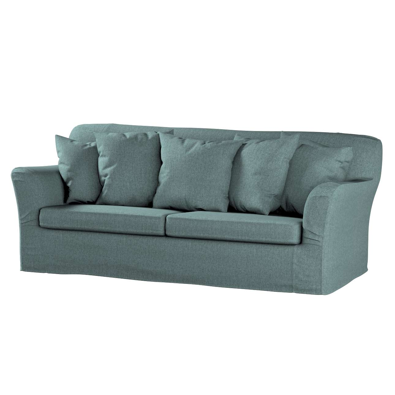 Pokrowiec na sofę Tomelilla 3-osobową rozkładaną w kolekcji City, tkanina: 704-85