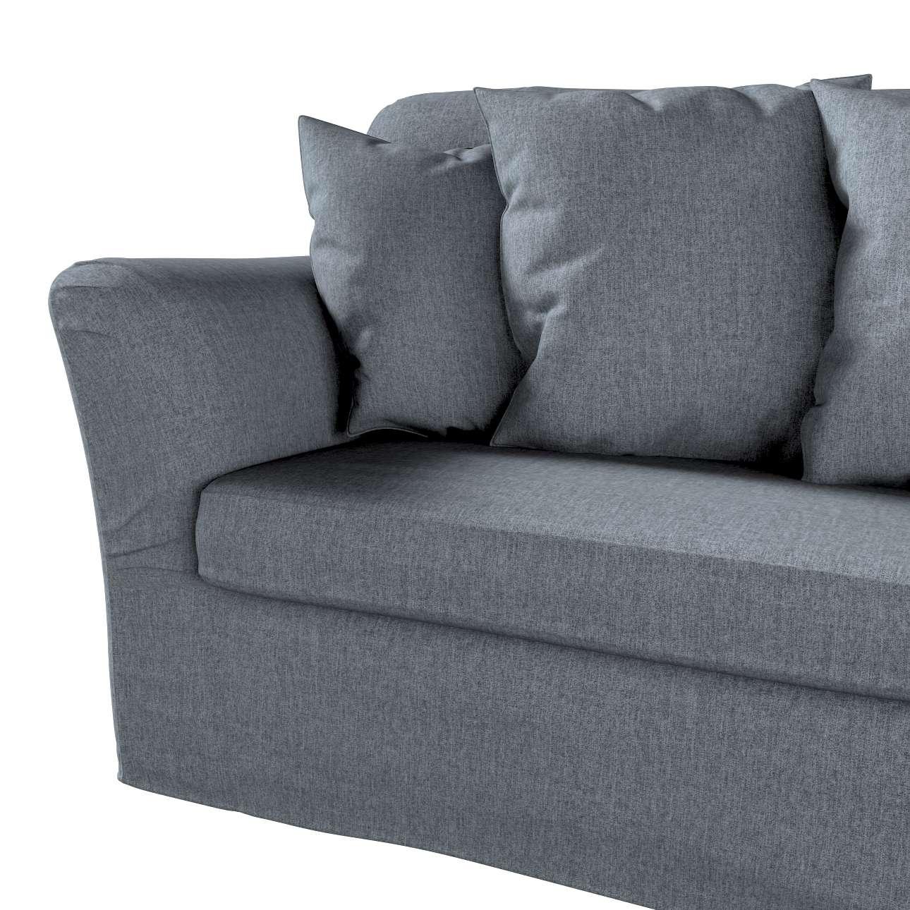 Pokrowiec na sofę Tomelilla 3-osobową rozkładaną w kolekcji City, tkanina: 704-86