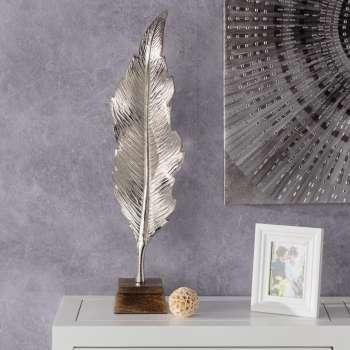 Dekoracja Silver Leaf I 66cm