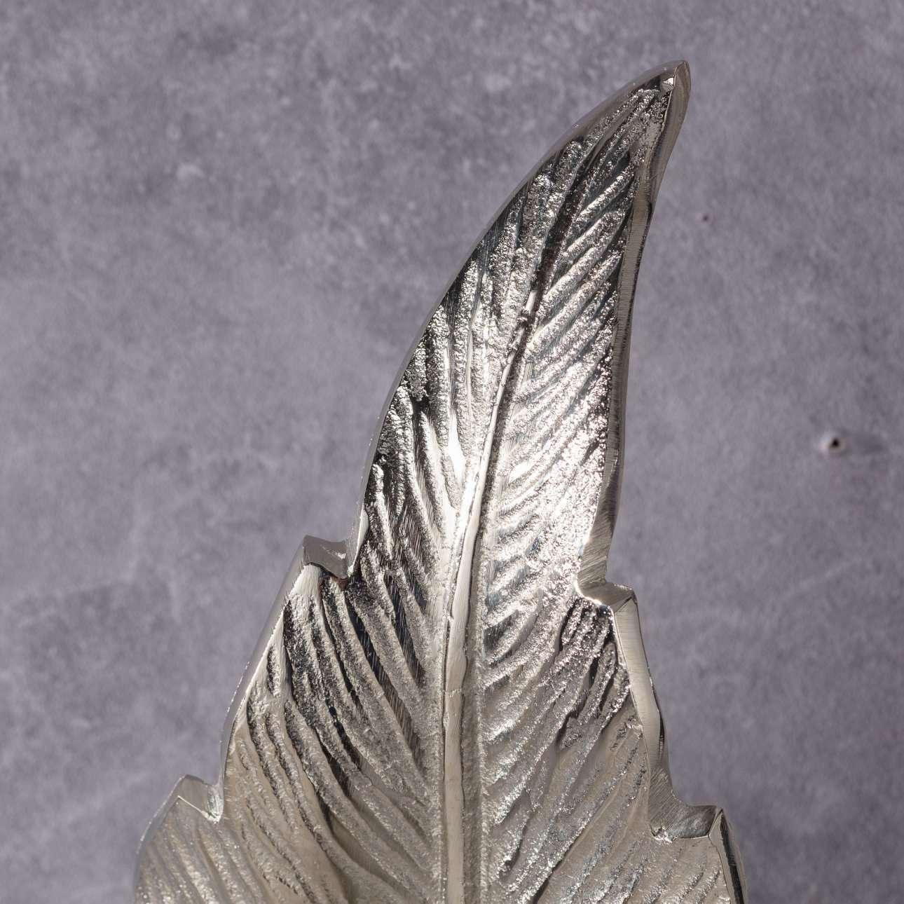 Dekoration Silver Leaf I 66cm