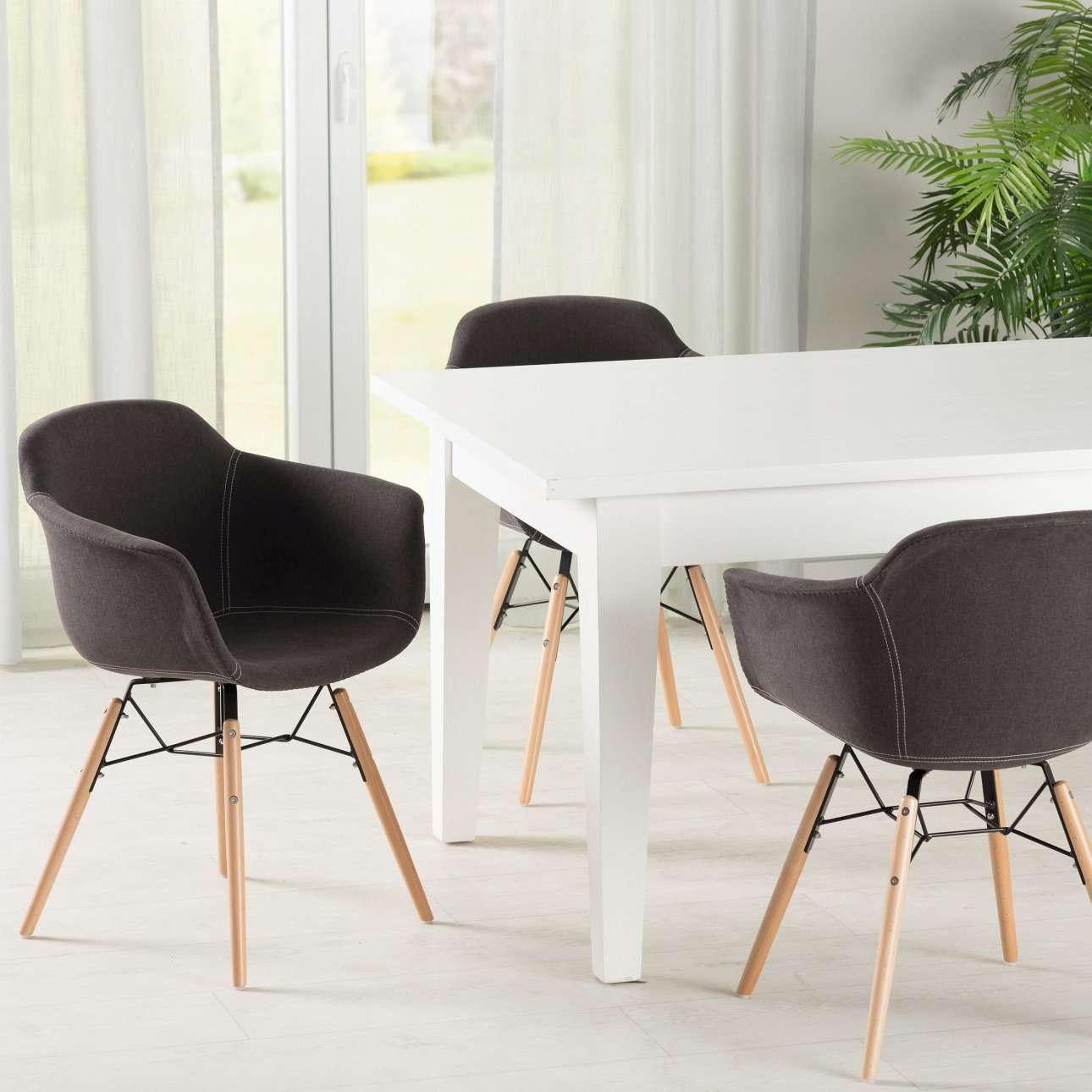 polsterstuhl sogo brown 80x38x58cm dekoria. Black Bedroom Furniture Sets. Home Design Ideas
