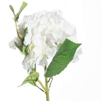 Kwiat Hortensji wys.65cm white
