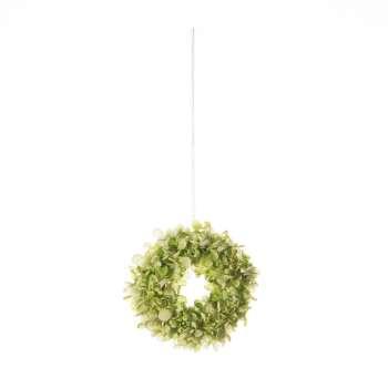 Wianek Flowers white 26cm