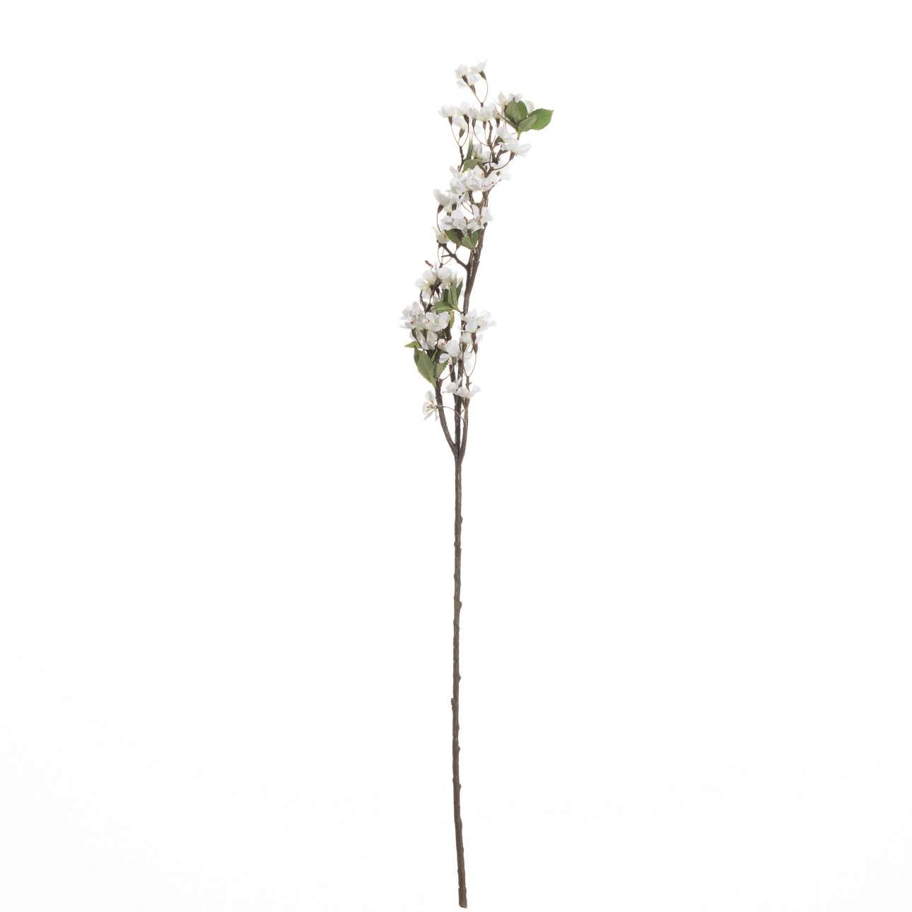 Artifical Apple Tree Twig with White Blossom H 105 cm