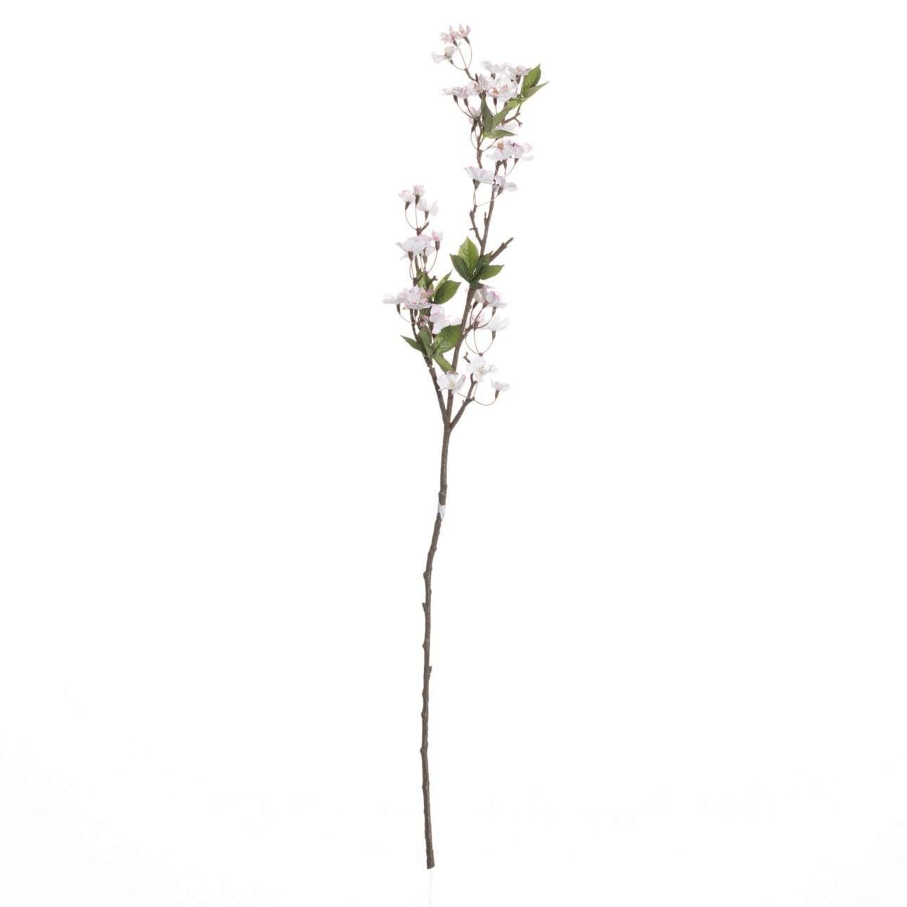 Rozkvetlá jabloňová větev růžová výška  105cm