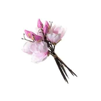 Bukiet Magnolii rose wys. 38cm