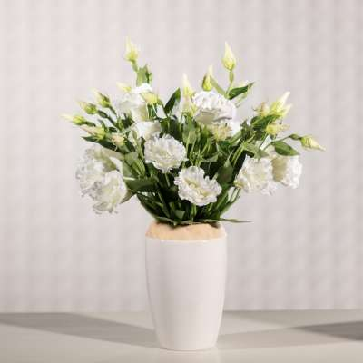 Artificial Eustoma Flower H 48 cm Artificial Flowers and  Faux Plants - Dekoria.co.uk