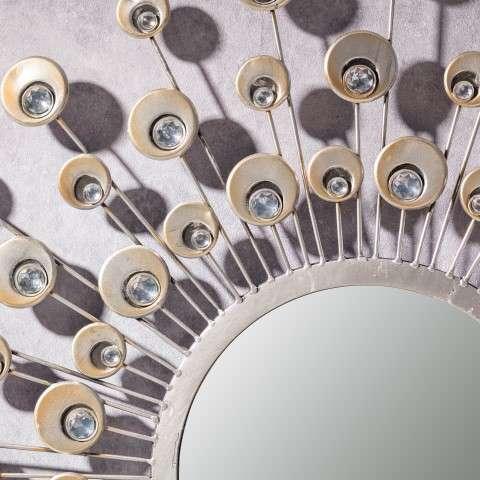 Spiegel Peacock 80cm