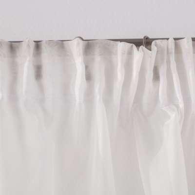 Lambrekin łuk Lily z koronką w kolekcji Woale, tkanina: 900-01