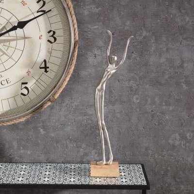 Dekofigur Silver Woman III 52cm