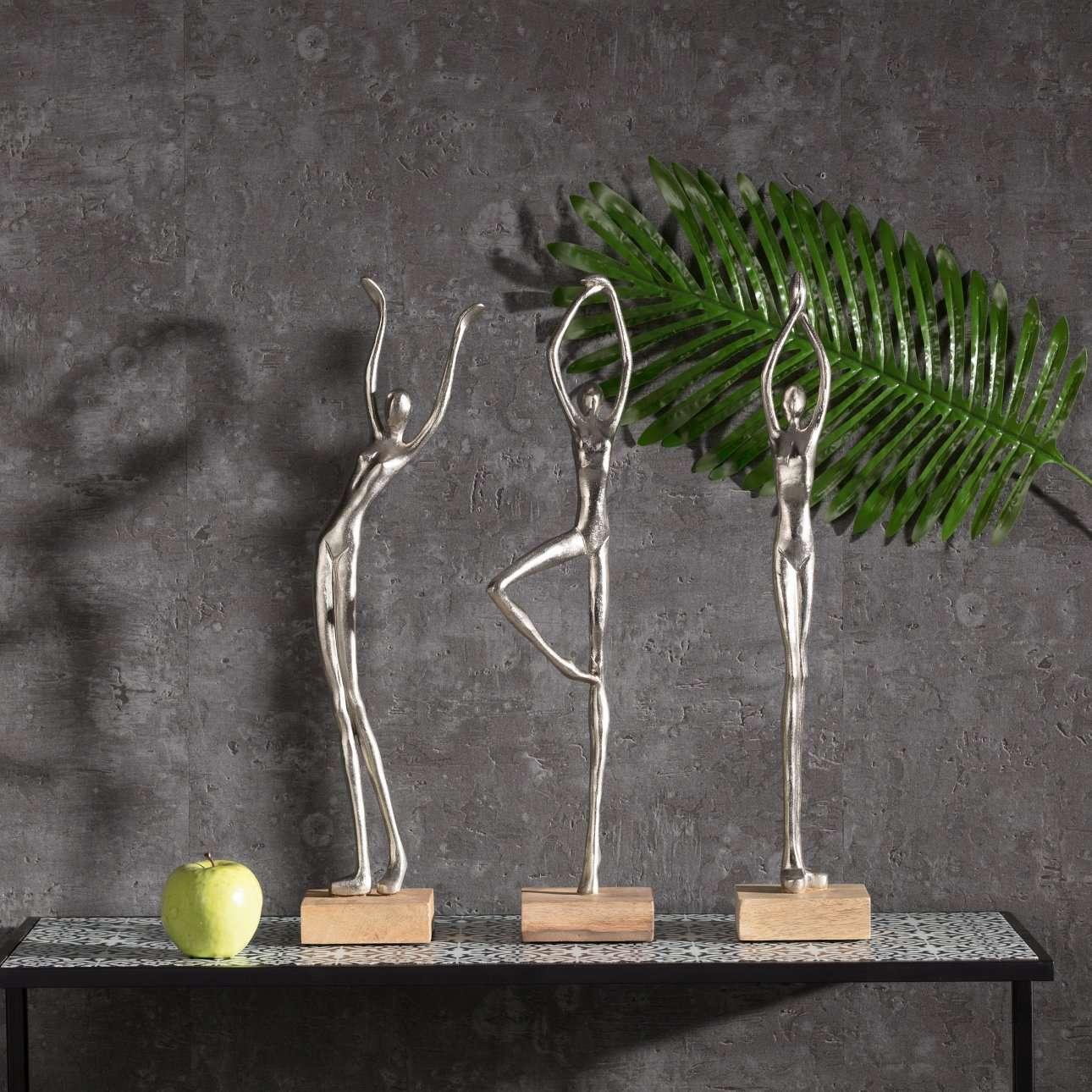 Dekoracja Silver Woman III wys. 52cm