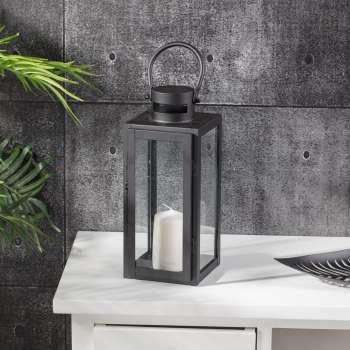 Laterne Elegance black 30cm
