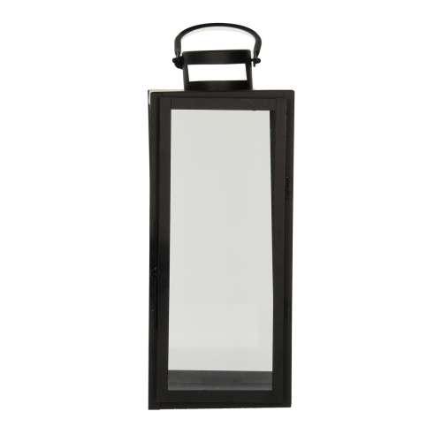 Lampion metalowy Elegance black wys. 42m