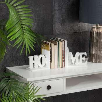 Komplet podpórek do książek Home White