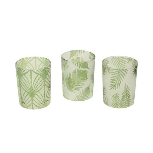 Teelichthalter-Set Folhas