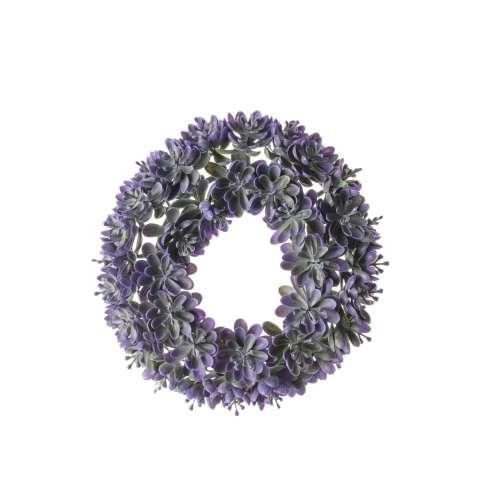 Wianek Botanic violet śr. 18cm