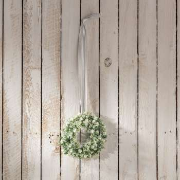 Wianek Plants white śr. 20cm