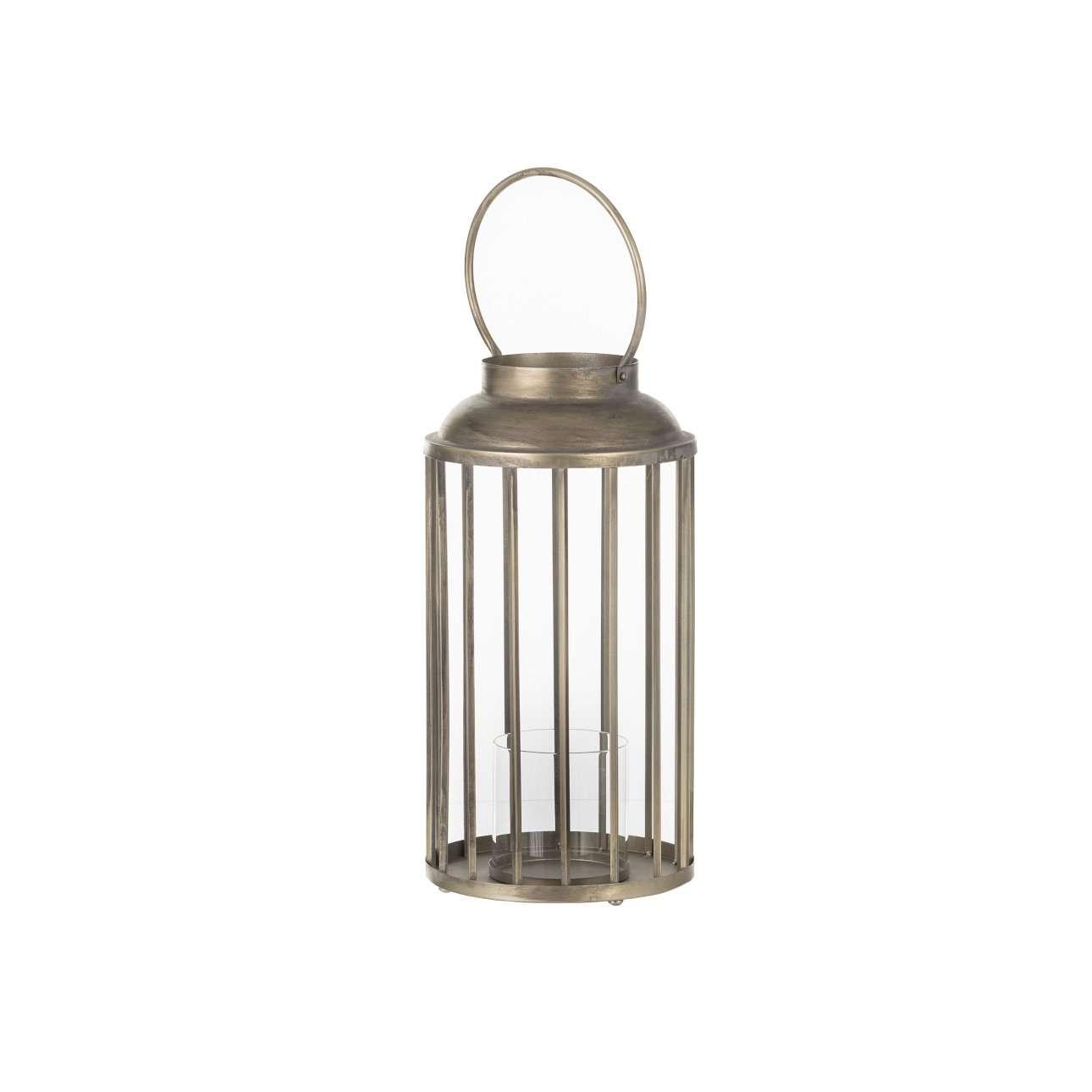 Lantaarn Ø24x47 cm BRADES antiek brons Light & Living